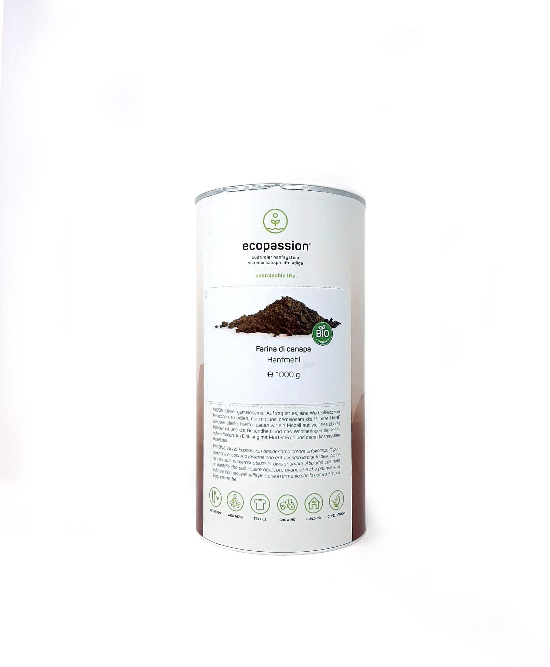 FO1000FAR-farina di canapa-1kg